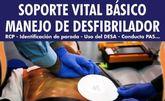 Se organizan durante el mes de noviembre varios cursos sobre 'Soporte vital básico para el manejo del desfibrilador'