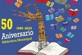 El próximo lunes, 24 de octubre, tendrá lugar un programa de actividades con motivo del 50 aniversario de la Biblioteca 'Mateo García'