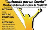 El domingo 13 de noviembre tendr� lugar una marcha solidaria a beneficio de AFACMUR ' Luchando por un sueño'