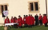 Visita de un representante de la DO Pimentón de Murcia a las fiestas del pimiento de Espelette (Francia)