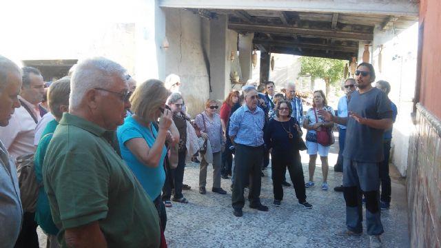 Comienzan las visitas a Totana dentro de la oferta de la red de excursiones programadas en los circuitos de viajes que organiza el IMSERSO - 2