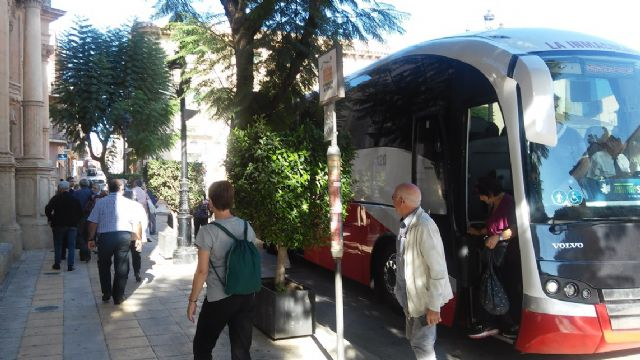 Comienzan las visitas a Totana dentro de la oferta de la red de excursiones programadas en los circuitos de viajes que organiza el IMSERSO - 4