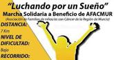 La Marcha Solidaria a beneficio de AFACMUR se celebra este domingo 13 de noviembre