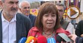 Cristina Narbona exige la implicación de las Administraciones regional y nacional para hacer posible el binomio agua-energía solar en la Región de Murcia