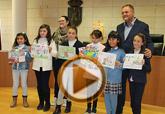 Entregan los premios del XIV Concurso de Dibujo sobre los Derechos del Niño
