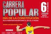 Mañana jueves 1 de diciembre finaliza el plazo de inscripción para la Carrera Popular Día de la Constitución