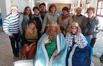 Los Reyes Magos visitaron esta mañana Cáritas Tres Avemarías
