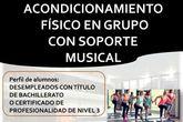 Curso 'Acondicionamiento físico en grupo con soporte musical'