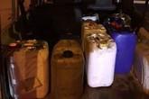 La Policía Local recupera 300 litros de gasoil que habían sido sustraídos en una parcela de Totana