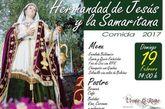 La Hermandad de Jesús y la Samaritana organiza una comida de hermandad, que tendrá lugar el próximo domingo 19 de febrero