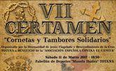 El VII certamen Cornetas y Tambores Solidarios tendrá lugar hoy sábado 11 de marzo