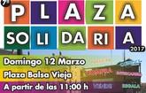 Este próximo domingo, 12 de marzo, se realiza un año más la PLAZA SOLIDARIA