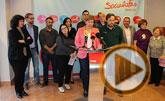 Lectura del manifiesto del PSOE con motivo del Día Internacional de la Mujer
