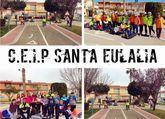 """Unos 220 alumnos del Colegio """"Santa Eulalia"""" participan en las actividades el programa de Educación Vial de la Policía Local"""