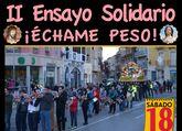 El II ensayo solidario Échame peso, organizado por la Hermandad de Santa María Salomé, tendrá lugar mañana sábado 18 de marzo