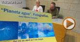 El sacerdote totanero José María Campos organiza la exposición de fotografía Planeta agua