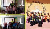 Una quincena de escolares del Colegio de Lébor participa en las sesiones formativas de la Escuela de Educación Vial de la Policía Local