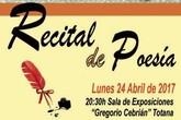 La Concejalía de Cultura conmemora hoy el Día del Libro con un Recital de Poesía y la VII edición del 'Libro Viajero'