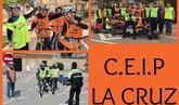 Un total de 370 escolares del CEIP La Cruz participa en las sesiones formativas de la Escuela de Educación Vial de la Policía Local