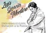 El poeta y profesor Luis Garc�a Montero ofrecer� una charla-conferencia el pr�ximo jueves 11 de mayo en Totana