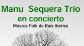 El concierto de música folk de raíz ibérica de 'Manu Sequera Trío' será este sábado