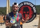 El totanero Alberto Crespo Molino participó en la Spartan Race Beast Barcelona 2017, y consigue la Spartan Trifecta