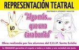 Alumnos del CEIP Santa Eulalia representan la obra de teatro Algo más…que una cara bonita
