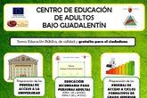 Abierto el plazo de matr�cula para toda la oferta formativa en el Centro de Educaci�n de Adultos Bajo Guadalent�n para el curso 2017/18