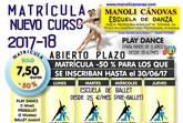 La Escuela de Danza Manoli Cánovas abre el plazo de matrícula para el curso 2017-18