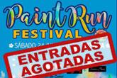 La Paint Run Festival cuelga el cartel de 'entradas agotadas'