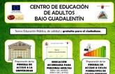 Continúa abierto el plazo de matrícula para toda la oferta formativa en el Centro de Educación de Adultos Bajo Guadalentín para el curso 2017/2018