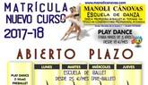 La Escuela de Danza Manoli Cánovas abre el plazo de matrícula para el curso 2017-2018