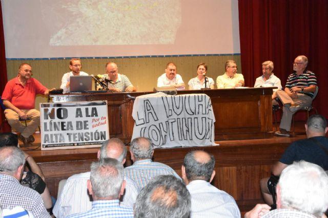 Urbanismo promoverá a partir de la semana próxima una campaña de recogida de alegaciones y firmas a la modificación del proyecto de la Línea de Alta Tensión - 12