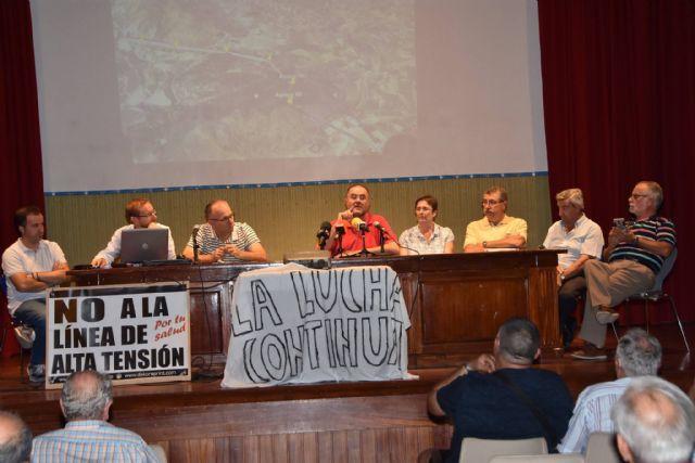 Urbanismo promoverá a partir de la semana próxima una campaña de recogida de alegaciones y firmas a la modificación del proyecto de la Línea de Alta Tensión - 14