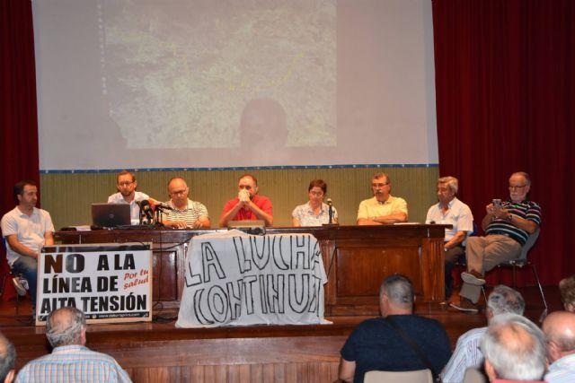 Urbanismo promoverá a partir de la semana próxima una campaña de recogida de alegaciones y firmas a la modificación del proyecto de la Línea de Alta Tensión - 16