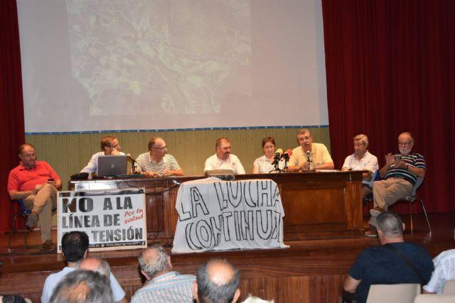 Urbanismo promoverá a partir de la semana próxima una campaña de recogida de alegaciones y firmas a la modificación del proyecto de la Línea de Alta Tensión - 18