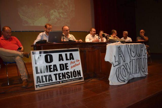 Urbanismo promoverá a partir de la semana próxima una campaña de recogida de alegaciones y firmas a la modificación del proyecto de la Línea de Alta Tensión - 19