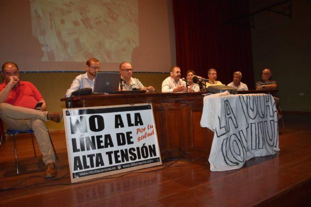 Urbanismo promoverá a partir de la semana próxima una campaña de recogida de alegaciones y firmas a la modificación del proyecto de la Línea de Alta Tensión - 34