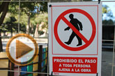 Comienzan las obras de mejora del área de juegos infantiles del parque municipal Marcos Ortiz