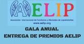 AELIP entregará este próximo domingo, 19 de noviembre, sus Premios 2017