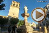 Las obras de restauración de la fuente 'Juan de Uzeta' contemplan una actuación integral en el monumento y en su entorno arquitectónico