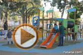 Abierta al público la nueva área de juegos infantiles del parque municipal 'Marcos Ortiz'