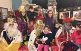 La Hermandad de Jes�s en el Calvario y Santa Cena recibe en Año Nuevo la visita de SSMM los Reyes Magos