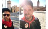Un totanero realiza hoy 8 de enero la romería de subida a La Santa, porque es cuando toca