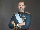 Llega a la Ciudad de Totana el retrato al �leo de S.M el Rey Felipe VI