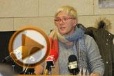 La concejal de Igualdad, Lali Moreno, ofreció una rueda de prensa sobre unas recientes declaraciones de Mariano Rajoy ('No nos metamos en eso')