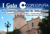 La I Gala Cope Espuña tendrá lugar el próximo 15 de febrero