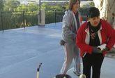 Realizan trabajos de mejora y acondicionamiento en el Local Social de La Huerta