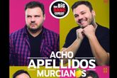 El show-espectáculo 'Acho apellidos murcianos' llega el próximo 23 de febrero a Totana