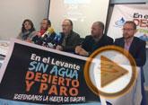La Comunidad de Regantes y autoridades municipales de Totana instan a la ciudadanía a movilizarse para participar en la manifestación del 7 de marzo en Madrid por la sequía
